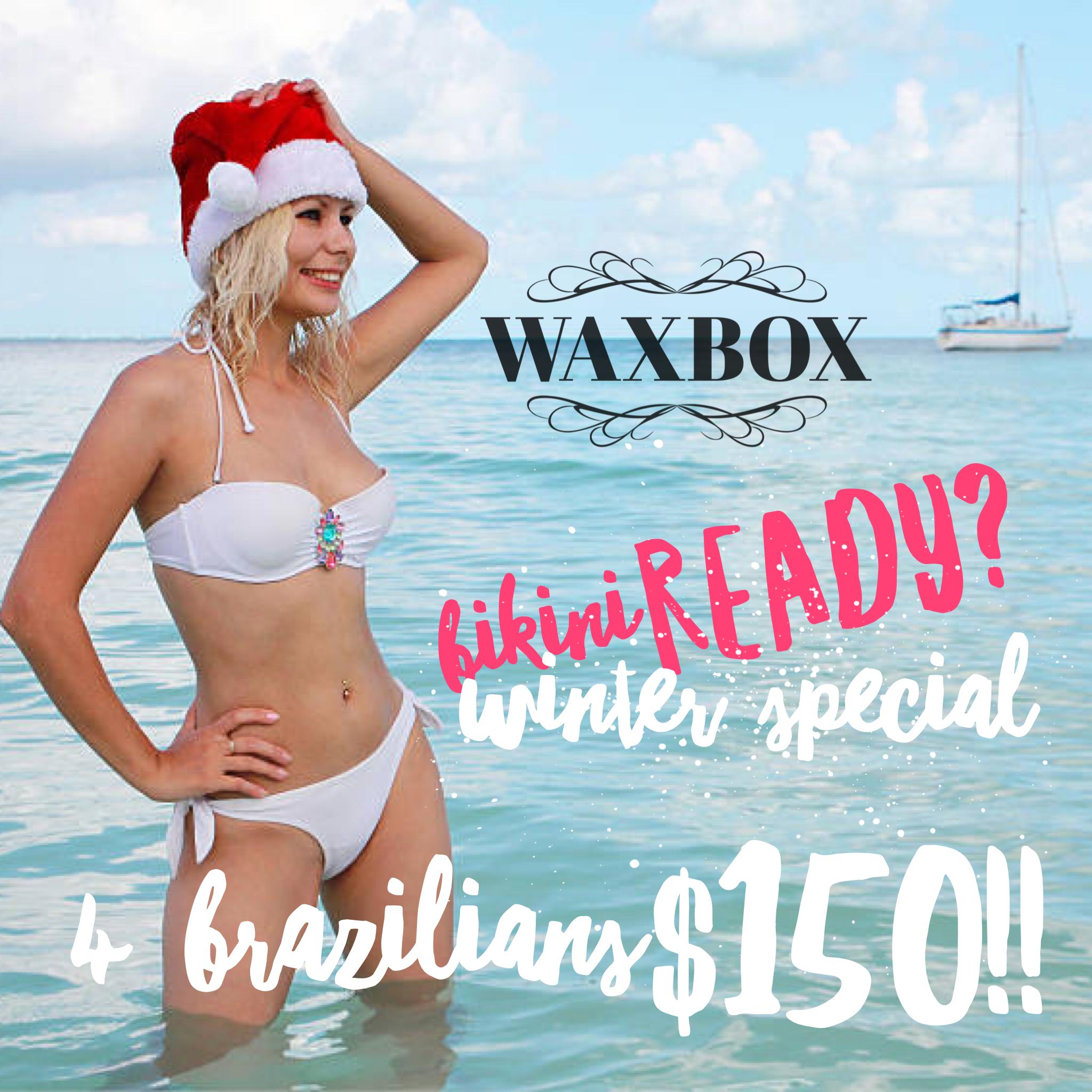 Winter Special!! 4 Brazilians $150!!!!! Available till January 1 *Valid till Dec 31st, 2019